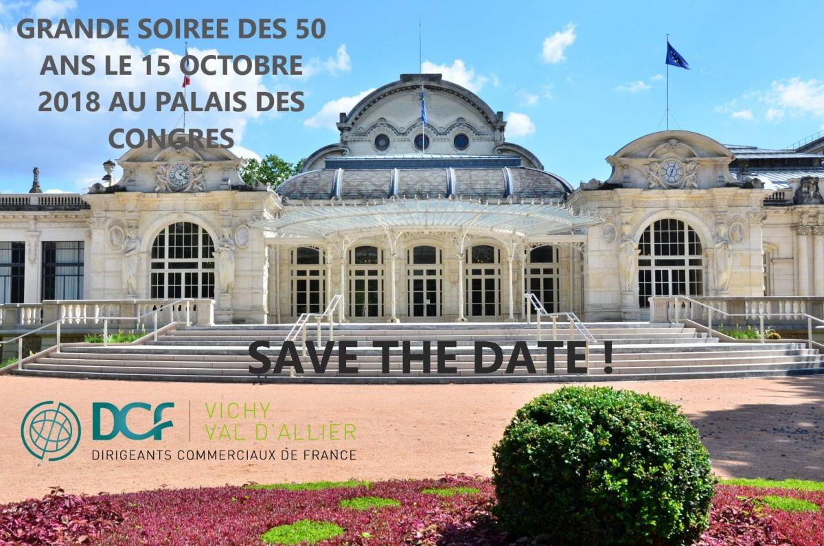50 ans DCF Vichy