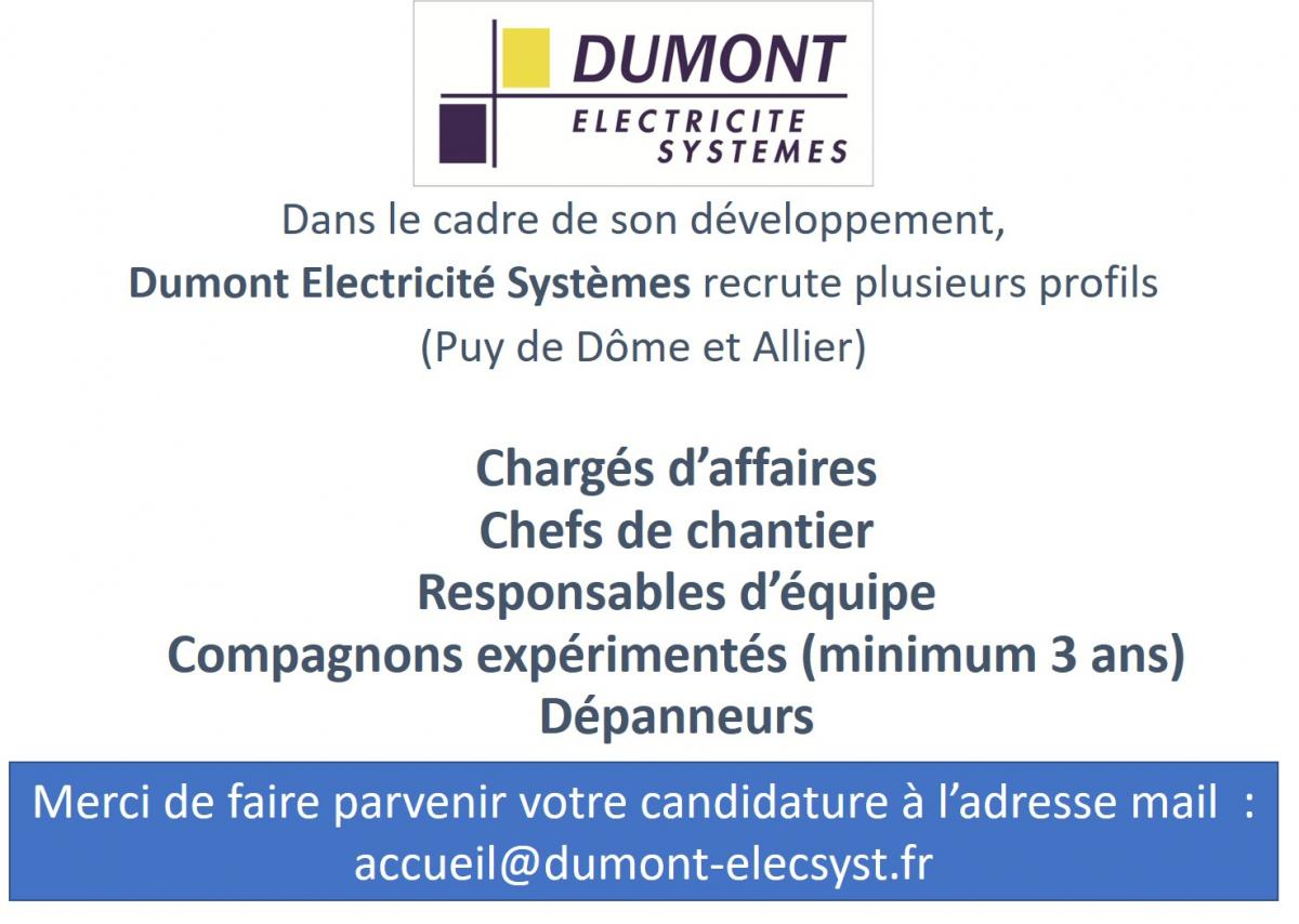 dumont electricite systemes