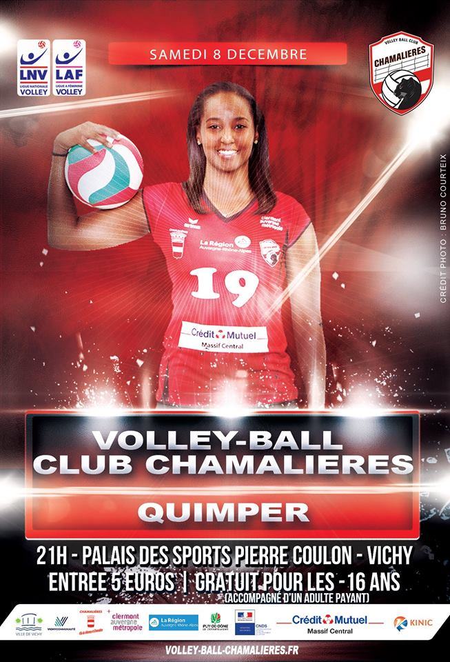 Volley-ball : les joueuses professionnelles de Chamalières à Vichy