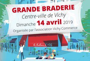 grande braderie avril 2019 vichy