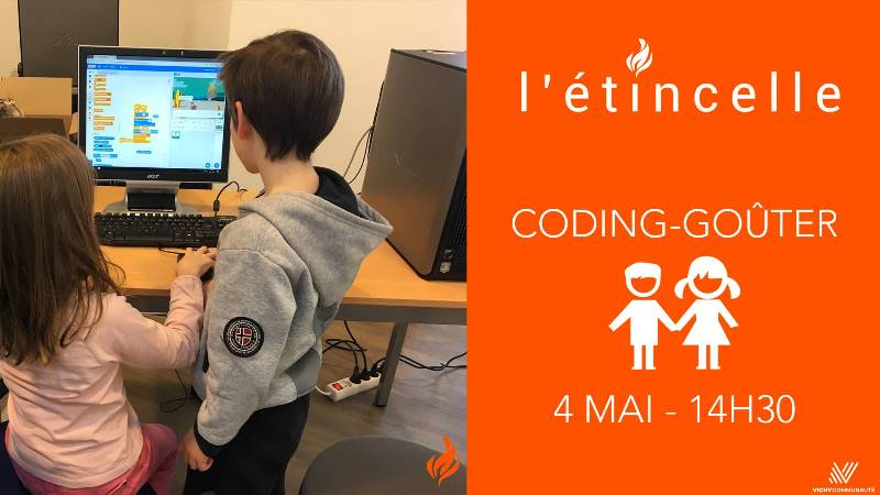 coding gouter - etincelle vichy