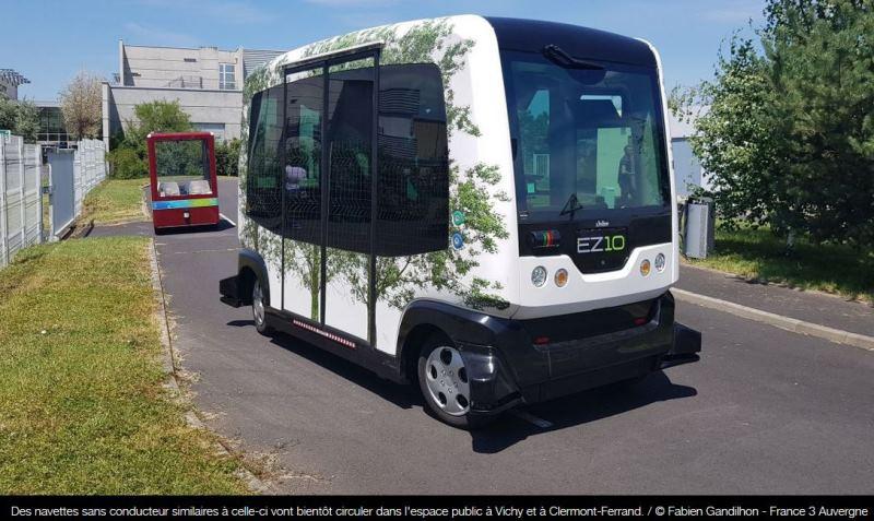 véhicule autonome ez10 ligier