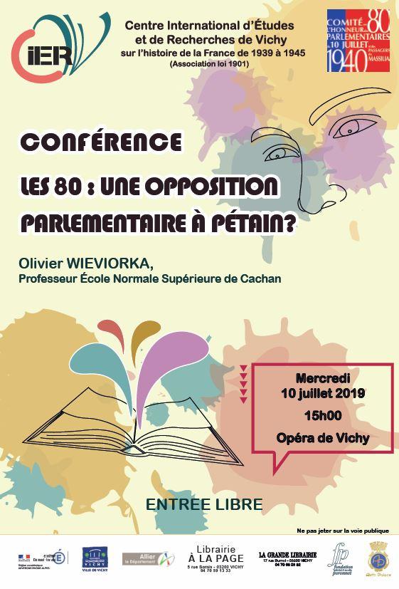 Conférence d'Olivier Wieviorka