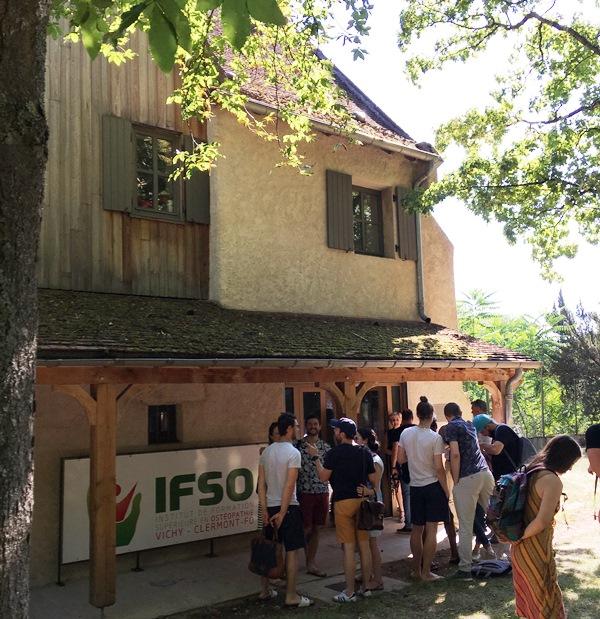 inauguration bat administratif IFSO vichy - 4 juillet 2019
