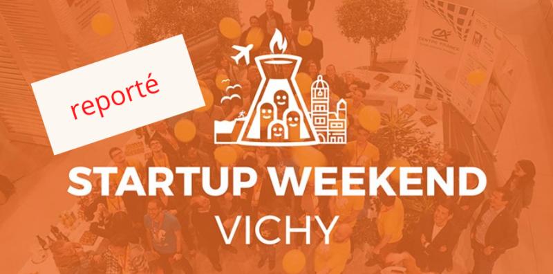 startup weekend vichy