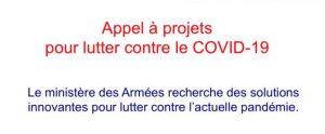 appel projet lutte contre covid 19