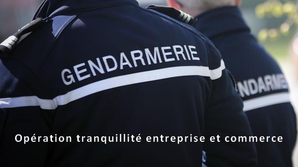 gendarmerie operation tranquillite