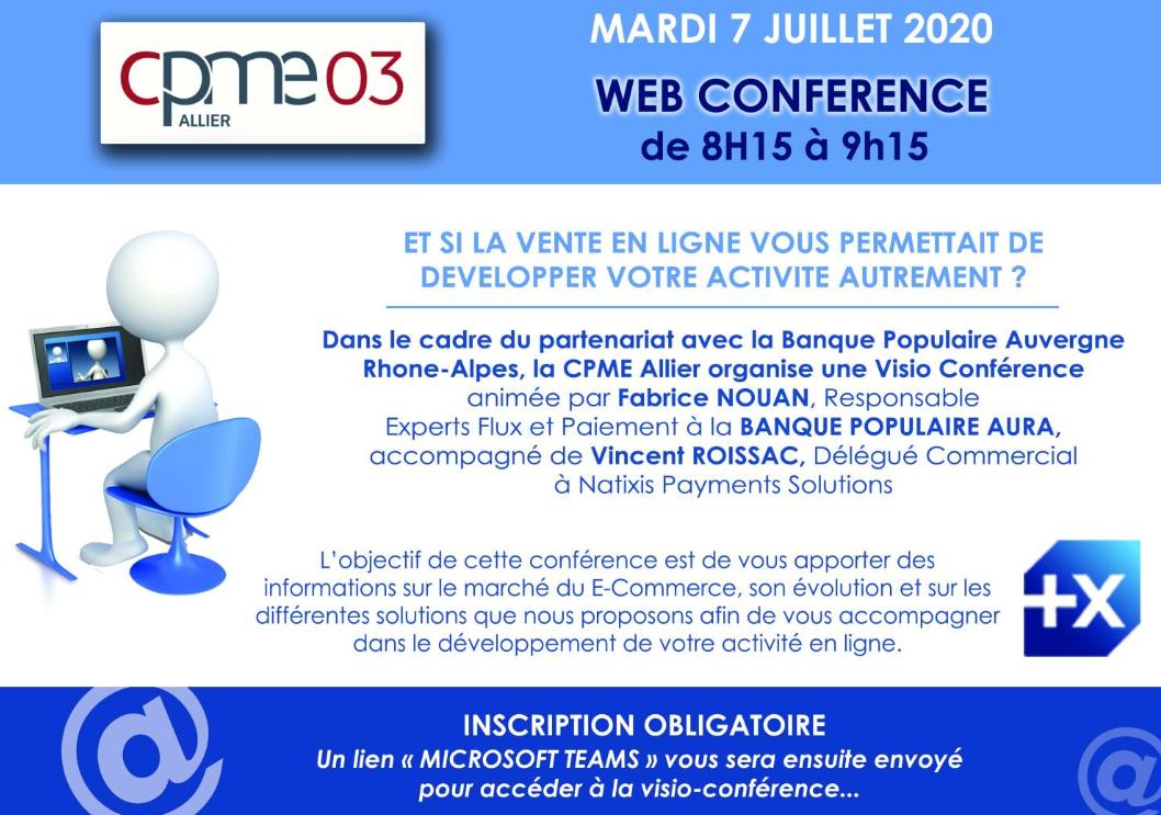 webconference ecommerce cpme allier