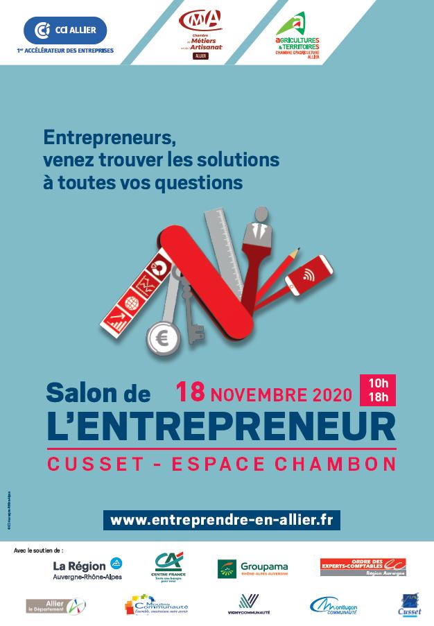 salon entrepreneur allier 2020
