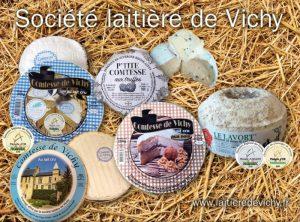fromages société laitière de Vichy