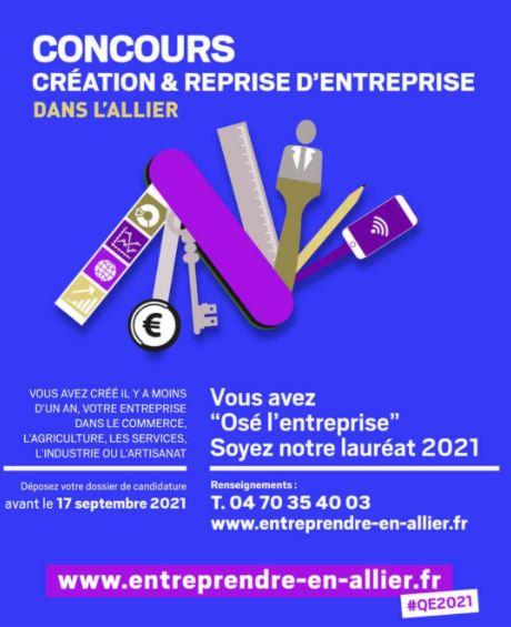 concours entreprise Allier - 2021