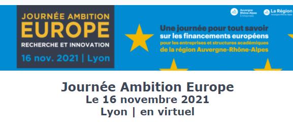journee ambition europe 2021