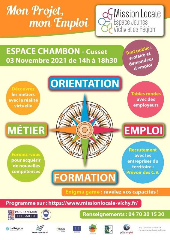 forum emploi mission locale - nov 2021